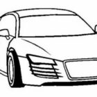 Audi S3 Car Coloring Page