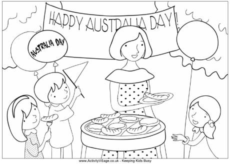 Australia Day Coloring Pages (17)