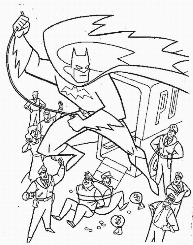 Batman Coloring Pages (8) - Coloring Kids