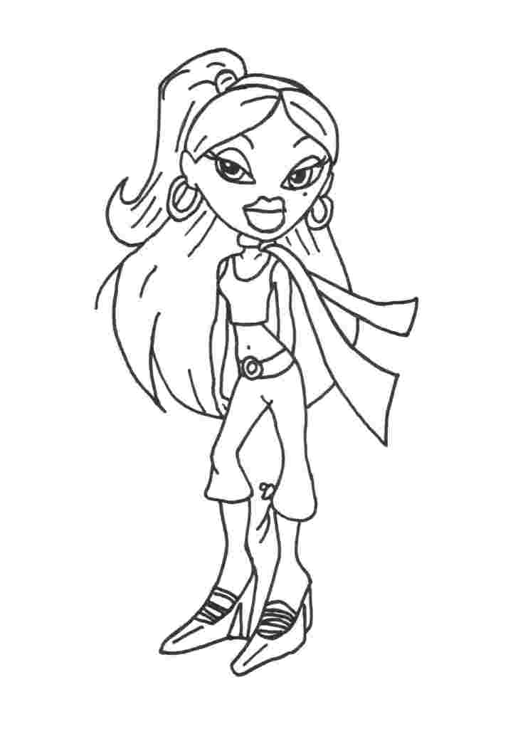 Bratz Coloring Pages 15 Coloring Kids