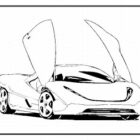 Car Coloring Pages (8)