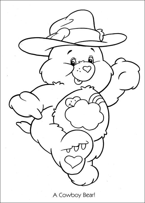 Care Bears Coloring Pages (11)