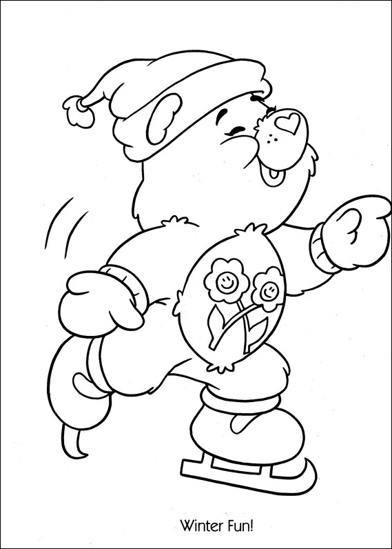 Care Bears Coloring Pages (13)