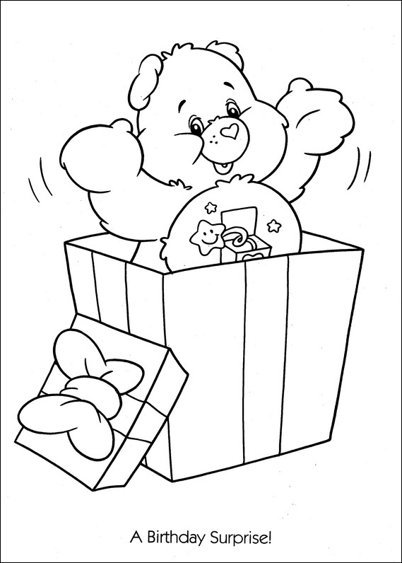 Care Bears Coloring Pages (5)