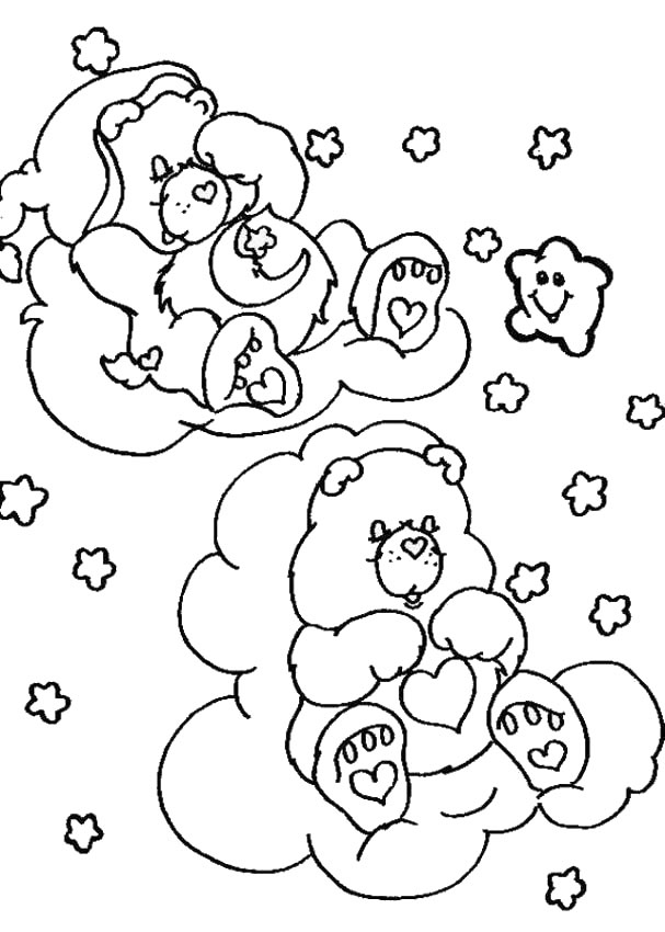 Care Bears Coloring Pages (6)