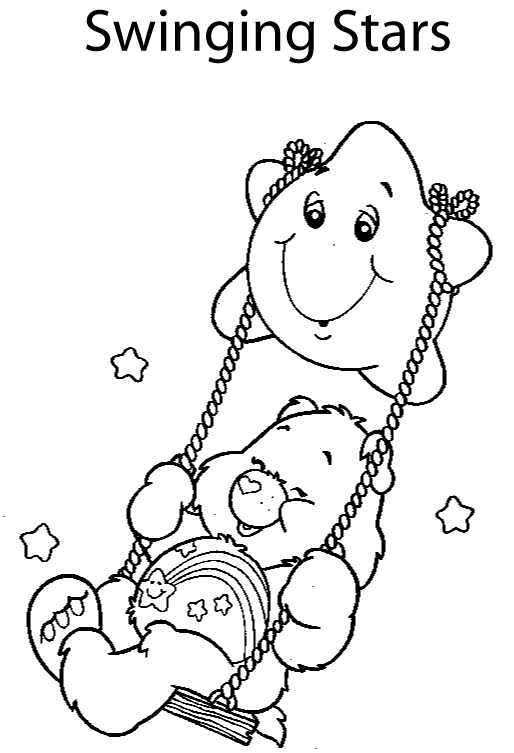 Care Bears Coloring Pages (8)