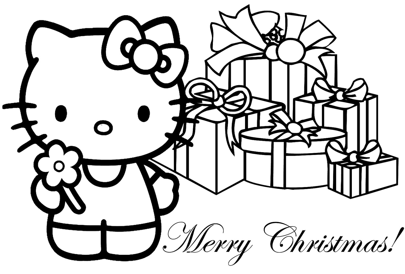 Christmas Coloring Pages (8) Coloring Kids - Coloring Kids