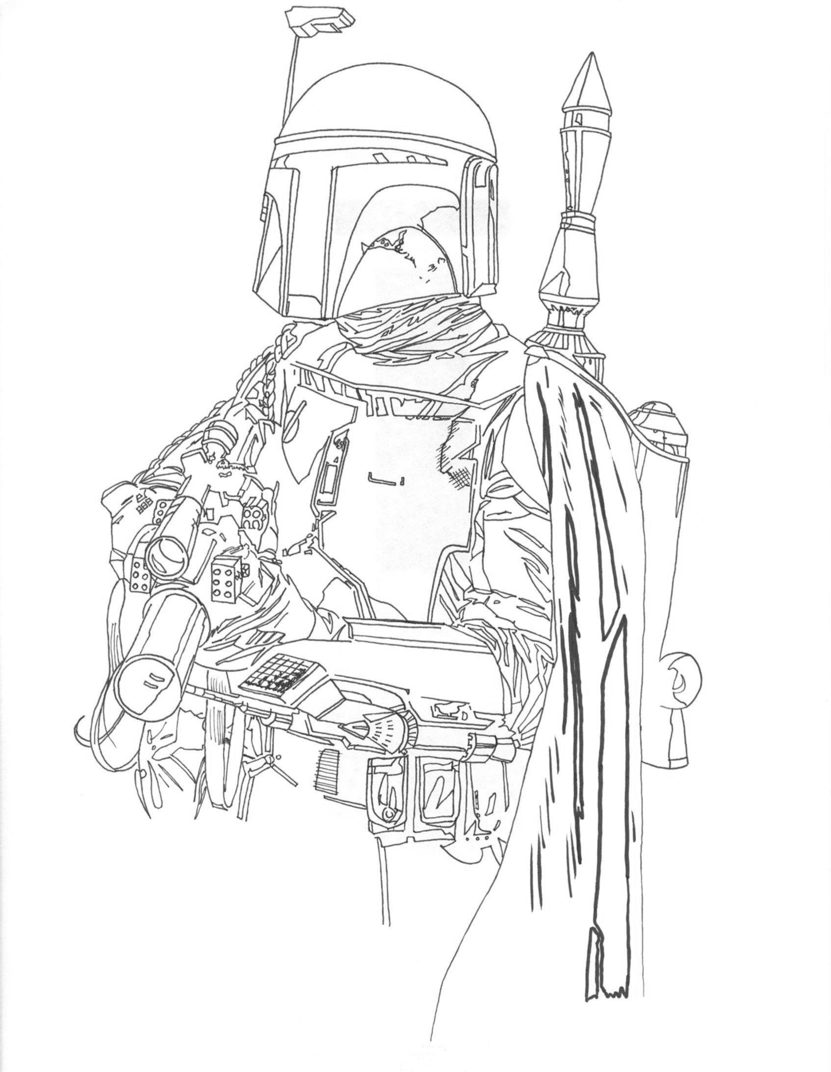 Clone Wars Coloring Pages – coloringkids.org