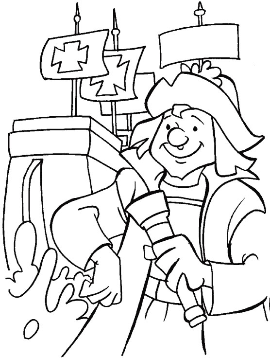 Columbus Day Coloring Pages (12)