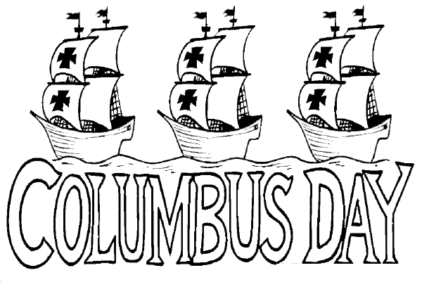 Columbus Day Coloring Pages (2)