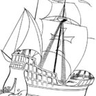 Columbus Day Coloring Pages (6)