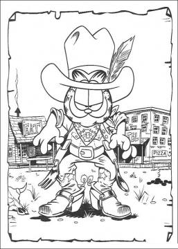 Cowboy Coloring Pages (1)