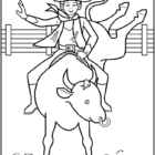 Cowboy Coloring Pages (2)