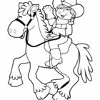 Cowboy Coloring Pages (5)