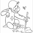 Curiose George Coloring Pages (10)
