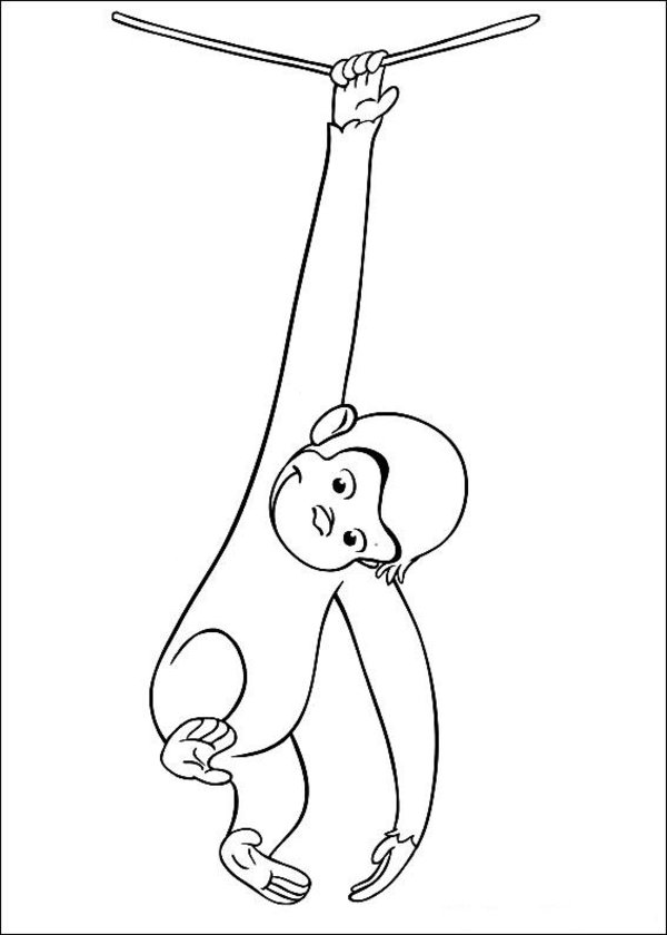 Curiose George Coloring Pages (19)