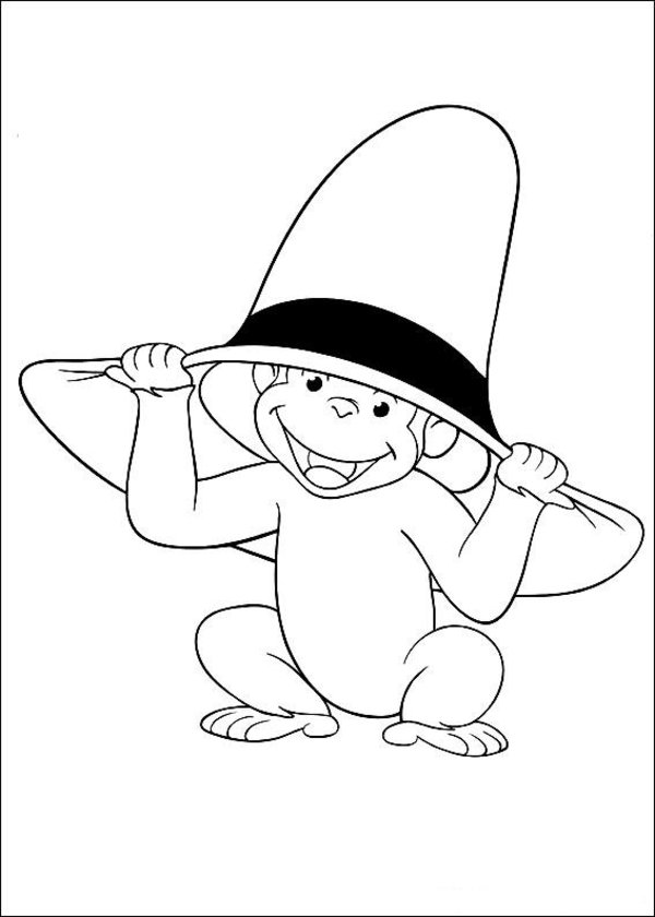 Curiose George Coloring Pages (20)