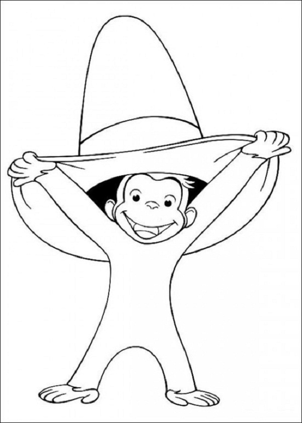 Curiose George Coloring Pages (21)