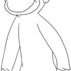 Curiose George Coloring Pages (3)