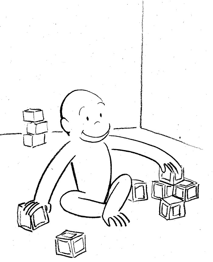 Curiose George Coloring Pages (4)