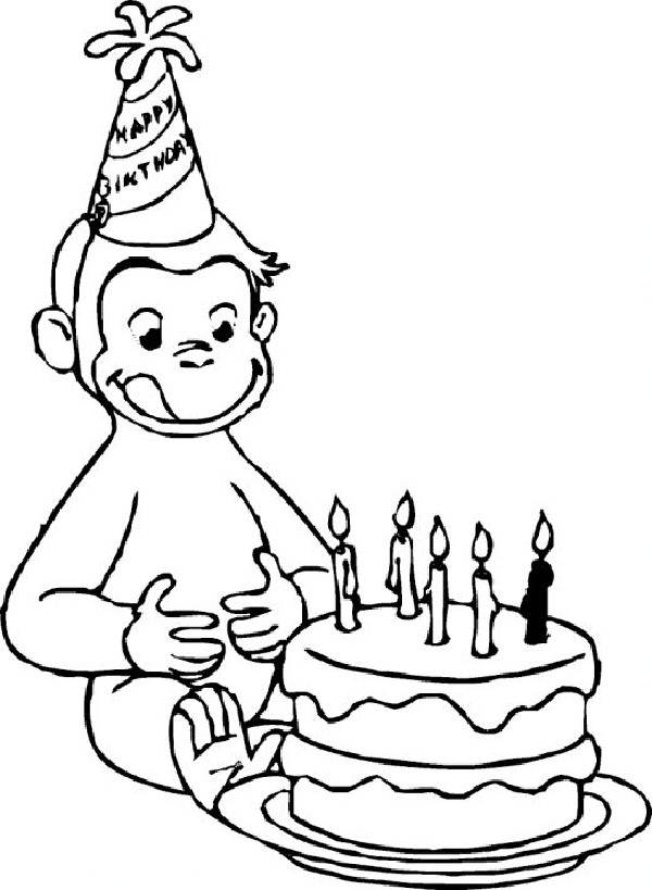 Curiose George Coloring Pages (7)