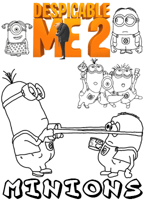 Despicable Me Coloring Pages (1)