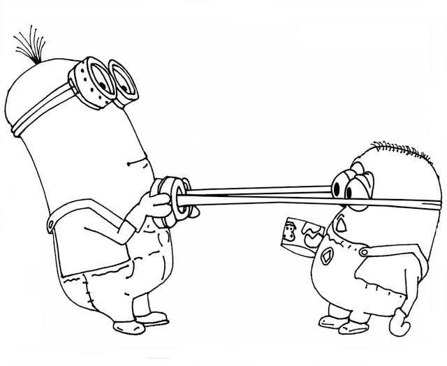 Despicable Me Coloring Pages (12)