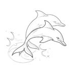 Dolphin Coloring Pages (6)