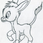 donkeys-coloring-pages
