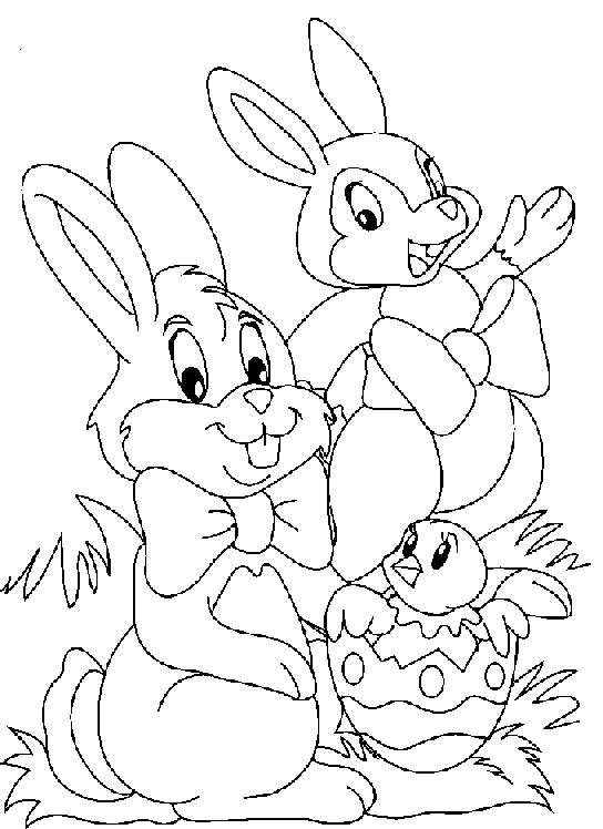Easter Coloring Pages (15)