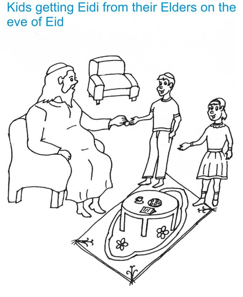 Eid Coloring Pages (15)