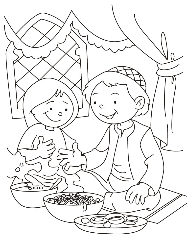Eid Coloring Pages (4)