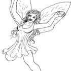 Fairies Coloring Pages (8)