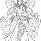 Fairies Coloring Pages (9)