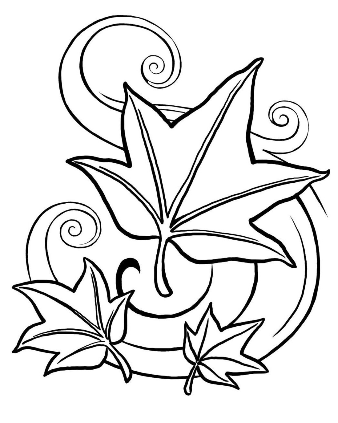 Fall Coloring Pages (1)