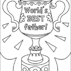 Fathers Day Coloring Pages (2)
