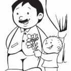 Fathers Day Coloring Pages (3)
