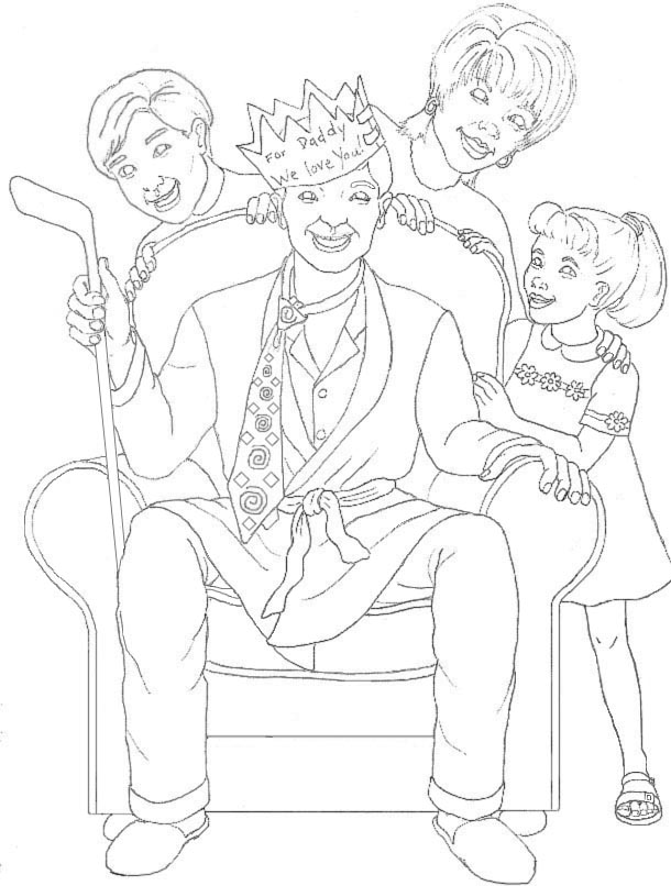 Fathers Day Coloring Pages (5)