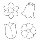 Flower Coloring Pages (10)