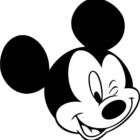 Free coloring pages of big mickey mouse