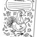 Free Thanksgiving Coloring Page!