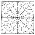Geometric Coloring Pages (5)
