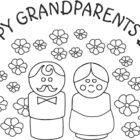 grandparents day coloring pages | Coloring Book