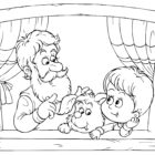 Grandparents Day Song and Coloring Pages Free Printable – Texas Life!