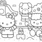 Hello Kitty Coloring Pages (12)
