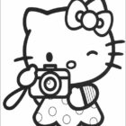 Hello Kitty Coloring Pages (14)