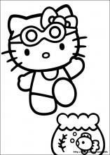 Hello Kitty Coloring Pages (3)