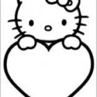 Hello Kitty Coloring Pages (8)
