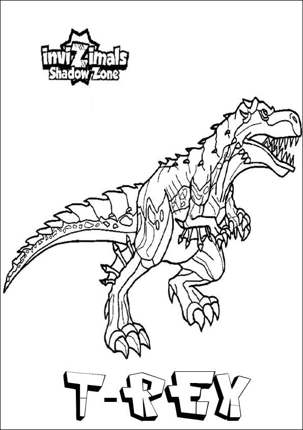 Invizimals Coloring Pages (3)