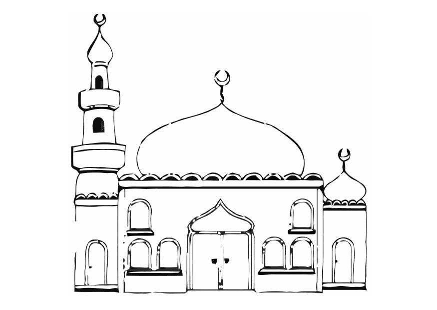 Islamic Coloring Pages (5)